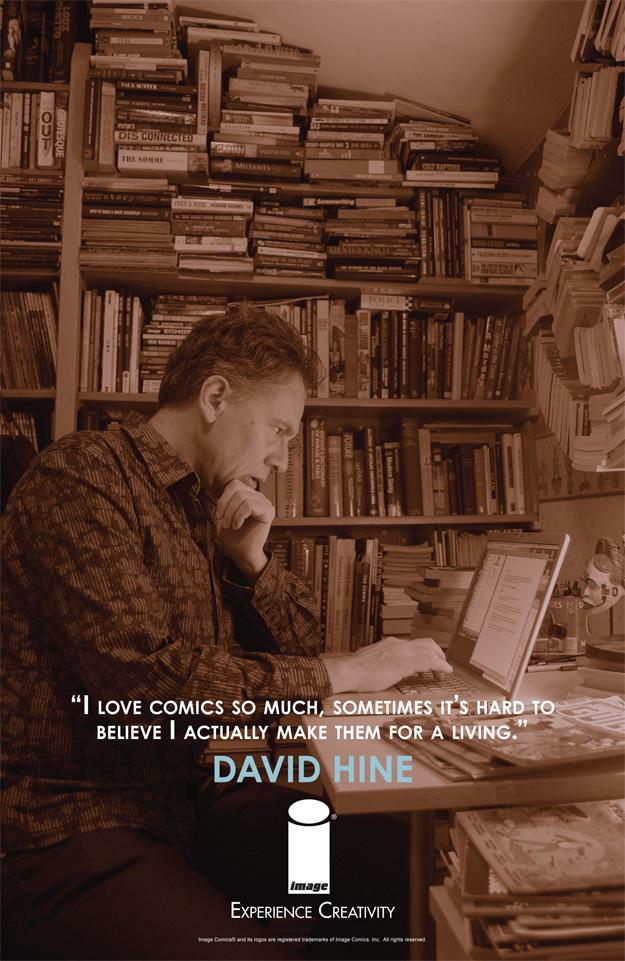 EXPERIENCE CREATIVITY: David Hine