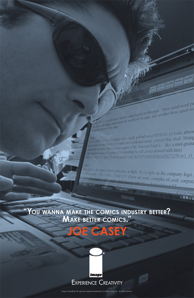 EXPERIENCE CREATIVITY: Joe Casey