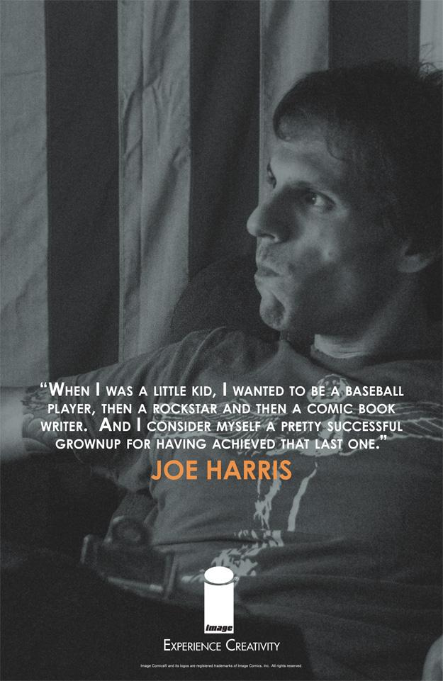 EXPERIENCE CREATIVITY: Joe Harris