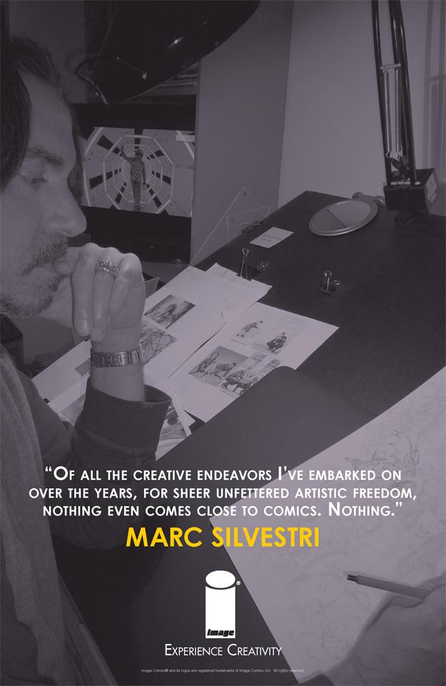 EXPERIENCE CREATIVITY: Marc Silvestri