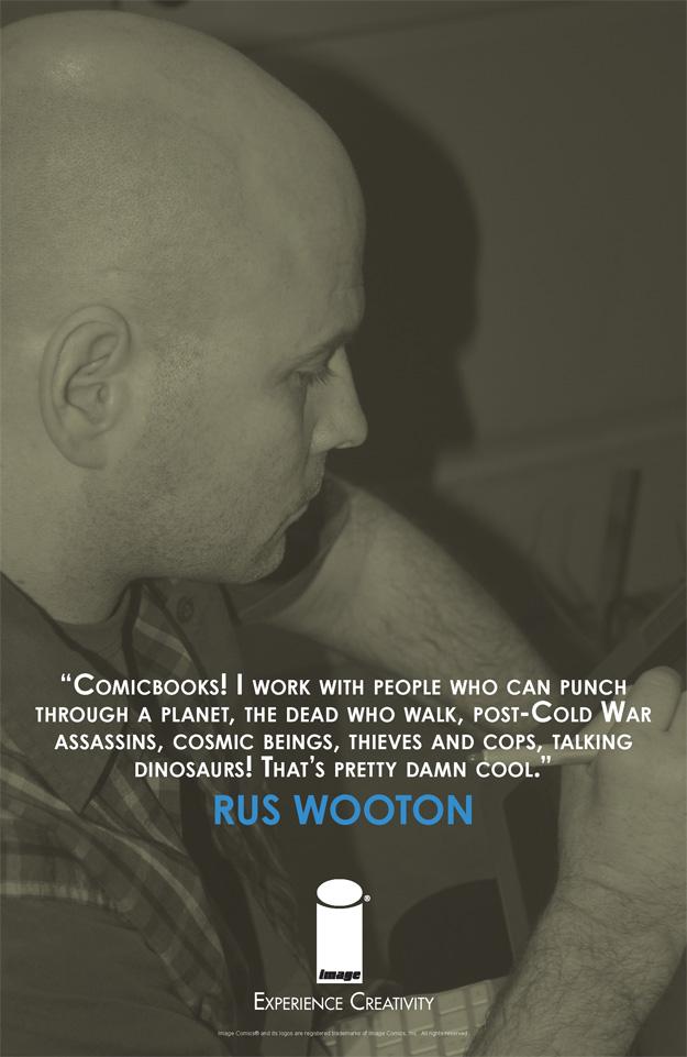 EXPERIENCE CREATIVITY: Rus Wooton