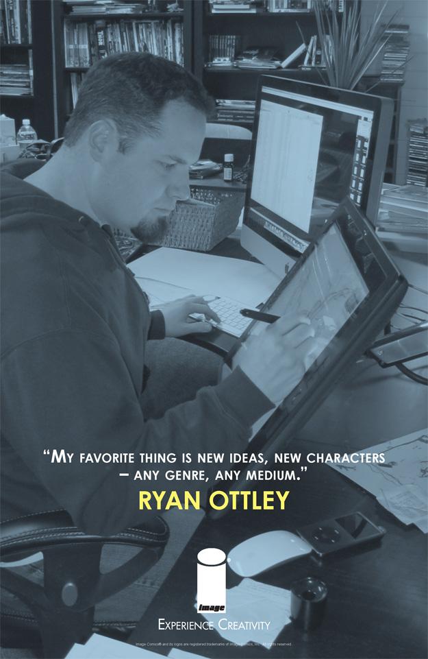 EXPERIENCE CREATIVITY: Ryan Ottley