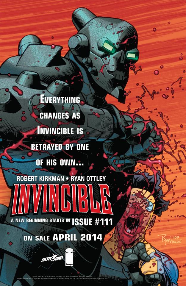 Invincible 111 ad