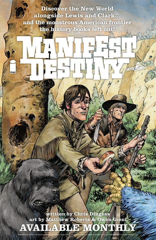 Manifest Destiny ad