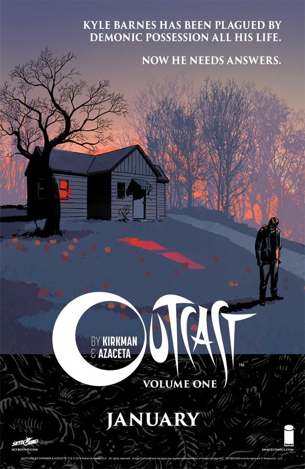 Outcast Vol 1 Version 2 ad