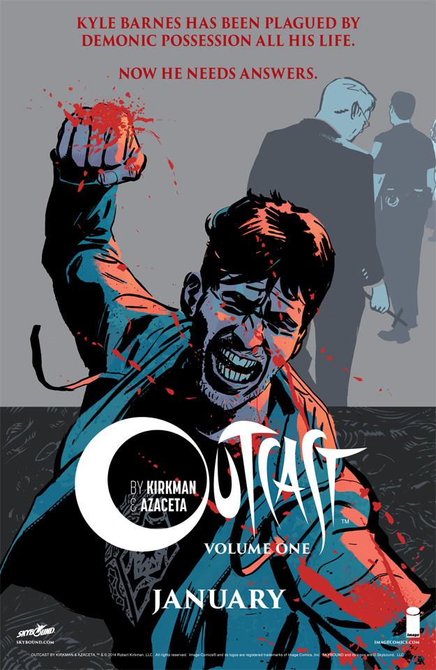 Outcast Vol 1 ad