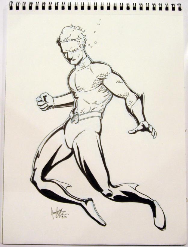 Aquaman – WonderCon 2012