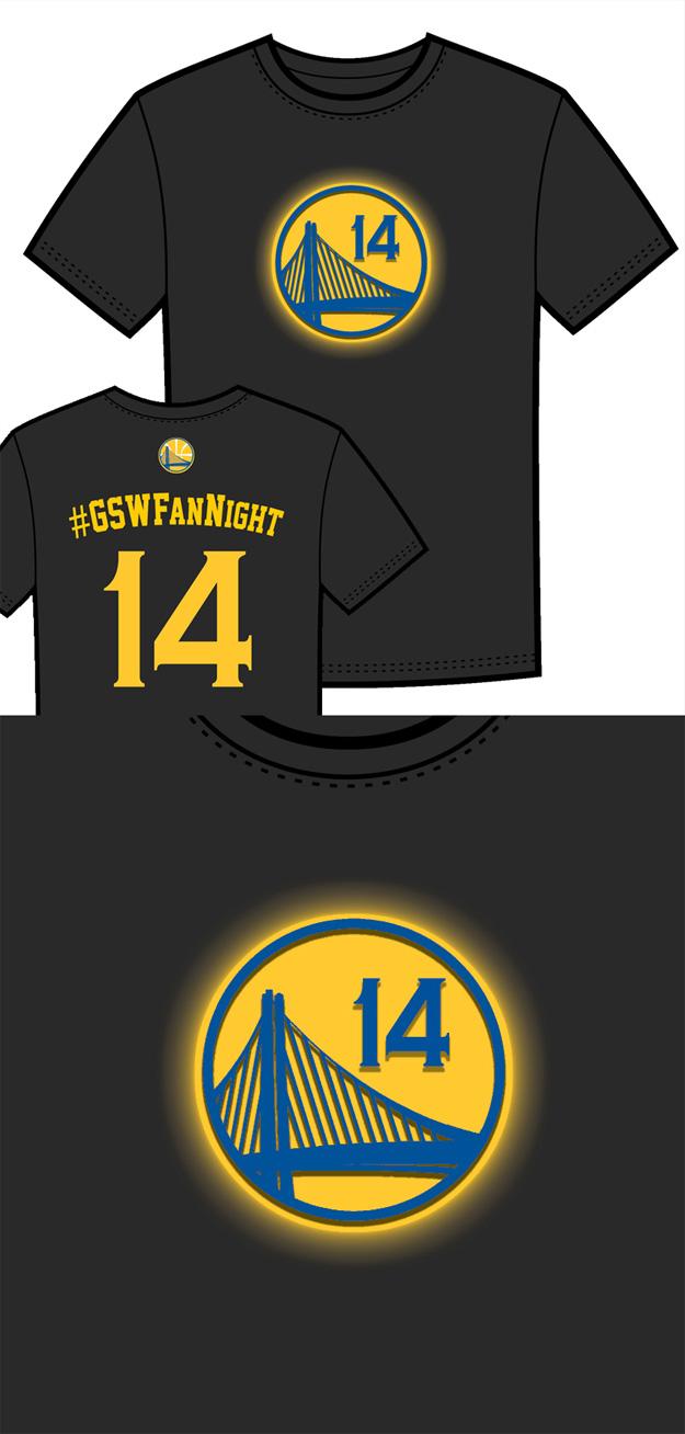 Warriors T-Shirt Idea – Logo Glow