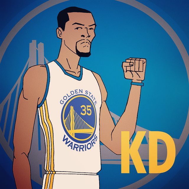 The quest begins for KD