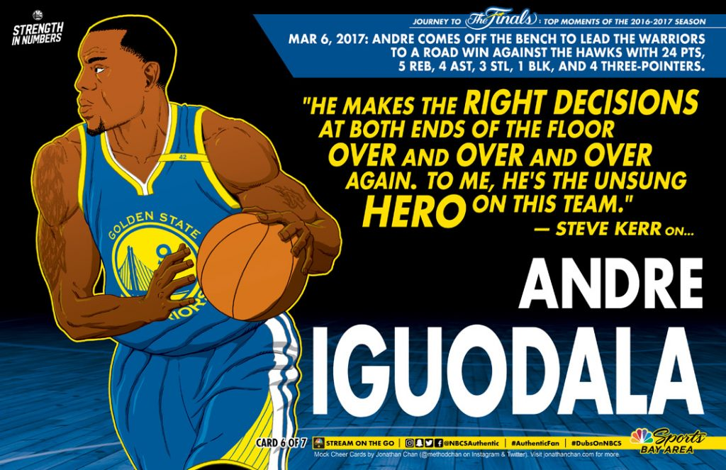Ws Cheer Card 06 Andre Iguodala