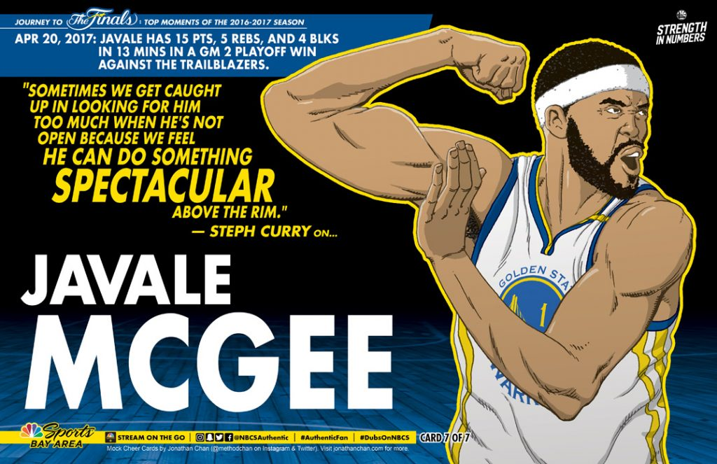 Ws Cheer Card 07 Javale McGee