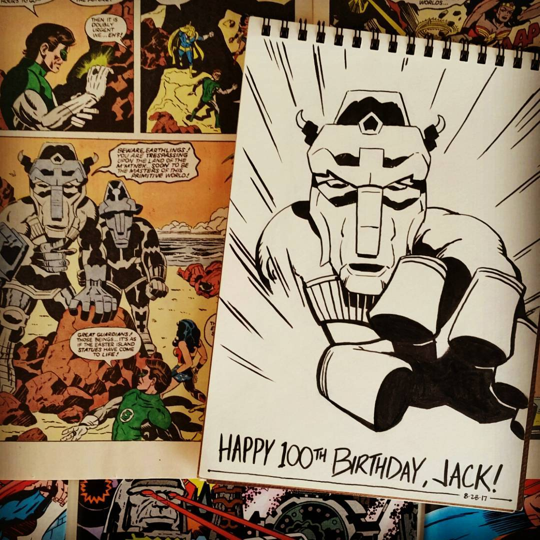 Happy 100th Birthday, Jack Kirby!