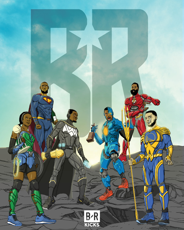 Bleacher Report Justice League: The Team