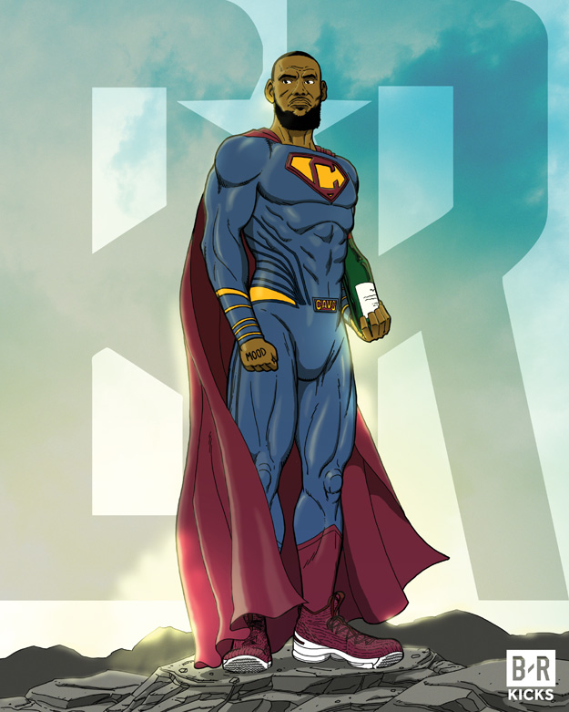 Bleacher Report Justice League: Super James