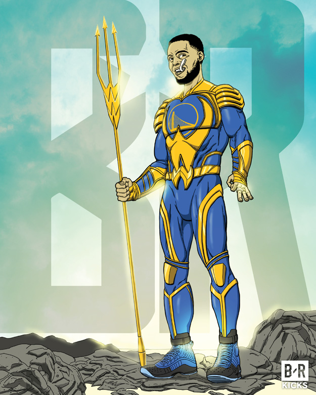 Bleacher Report Justice League: Aqua Curry