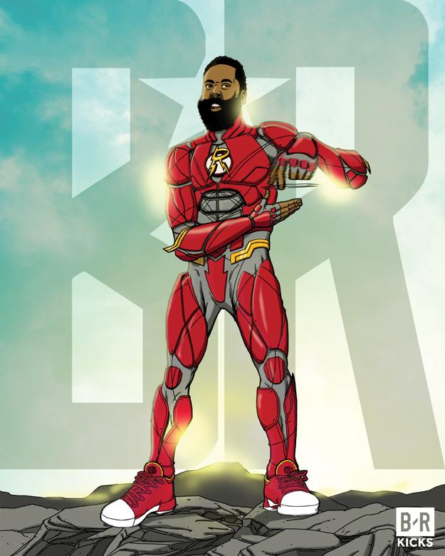 Bleacher Report Justice League: The Flash Harden
