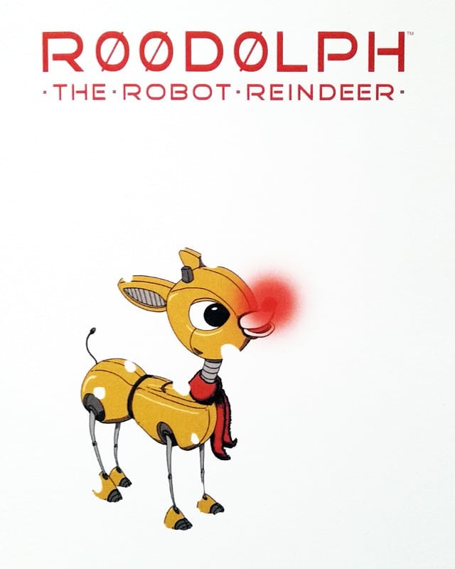 R00d0lph The Robot Reindeer