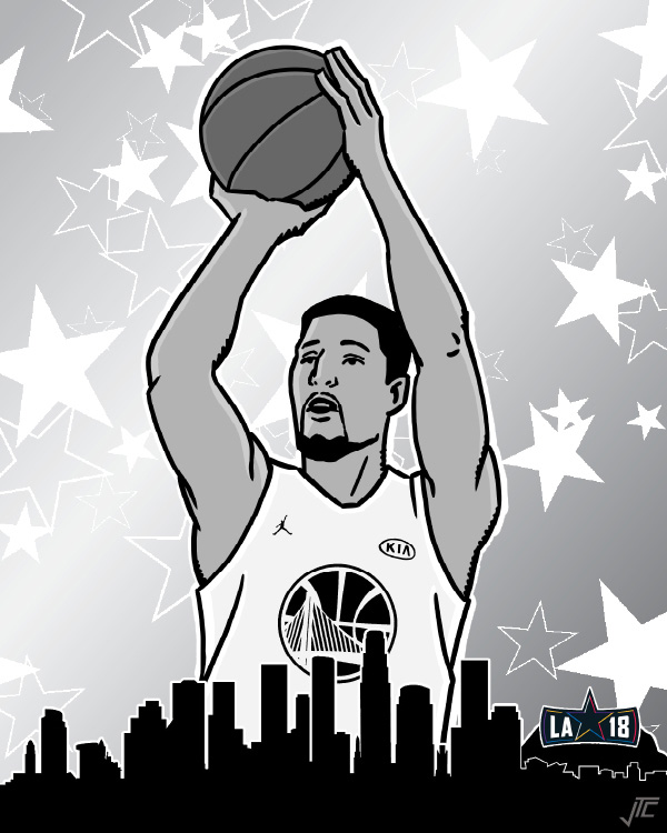 3-Point Contest Klay