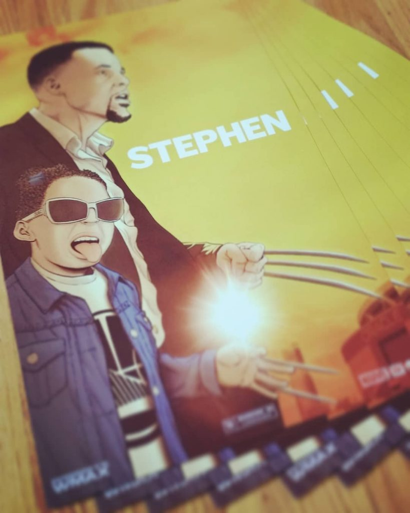 Stephen Prints Teaser