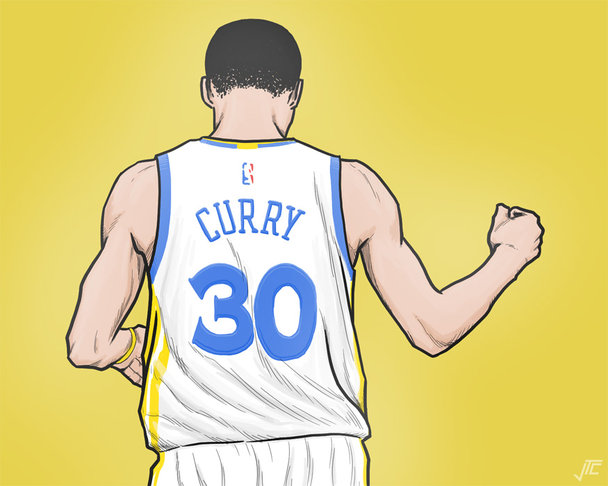 Curry Playoffs 2018