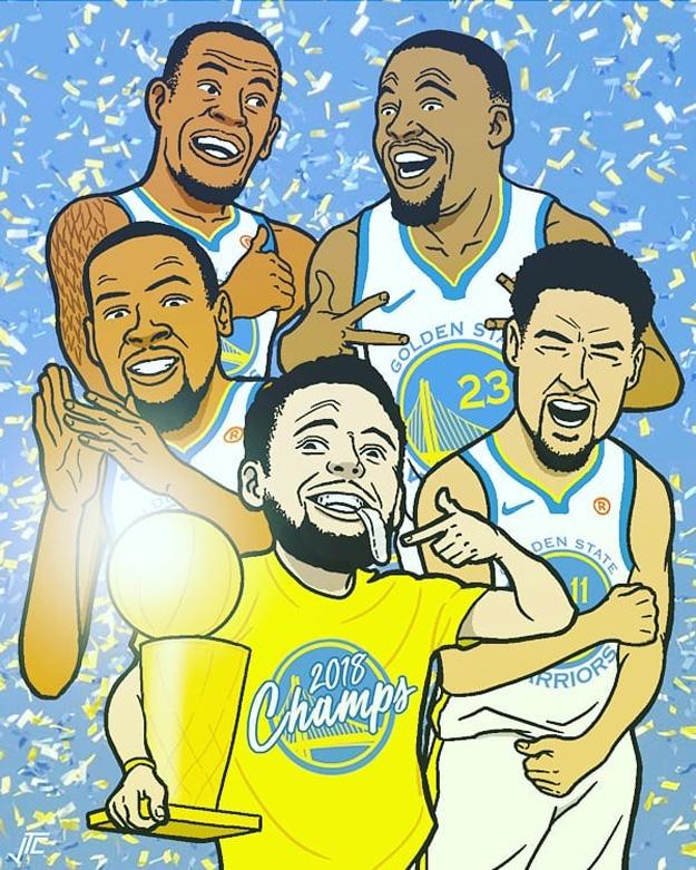 2018 NBA Champs