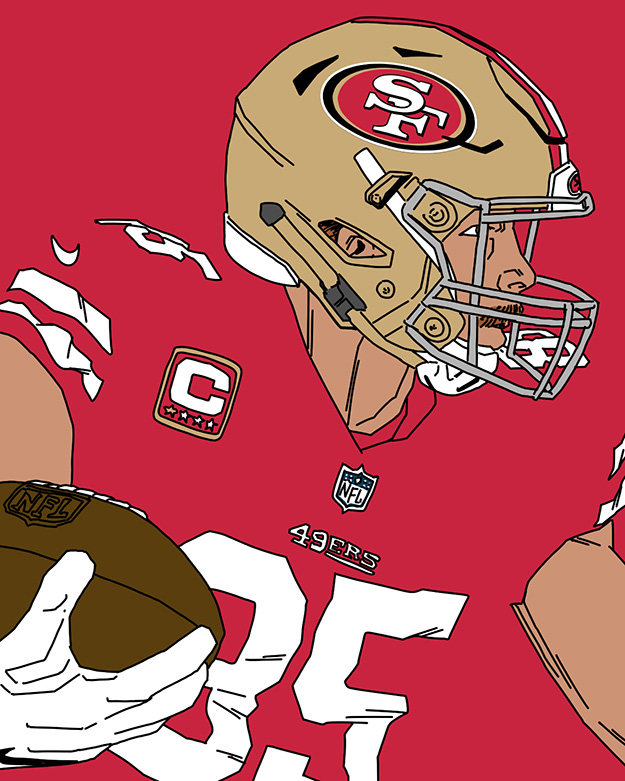Kittle 49ers 2019 Season